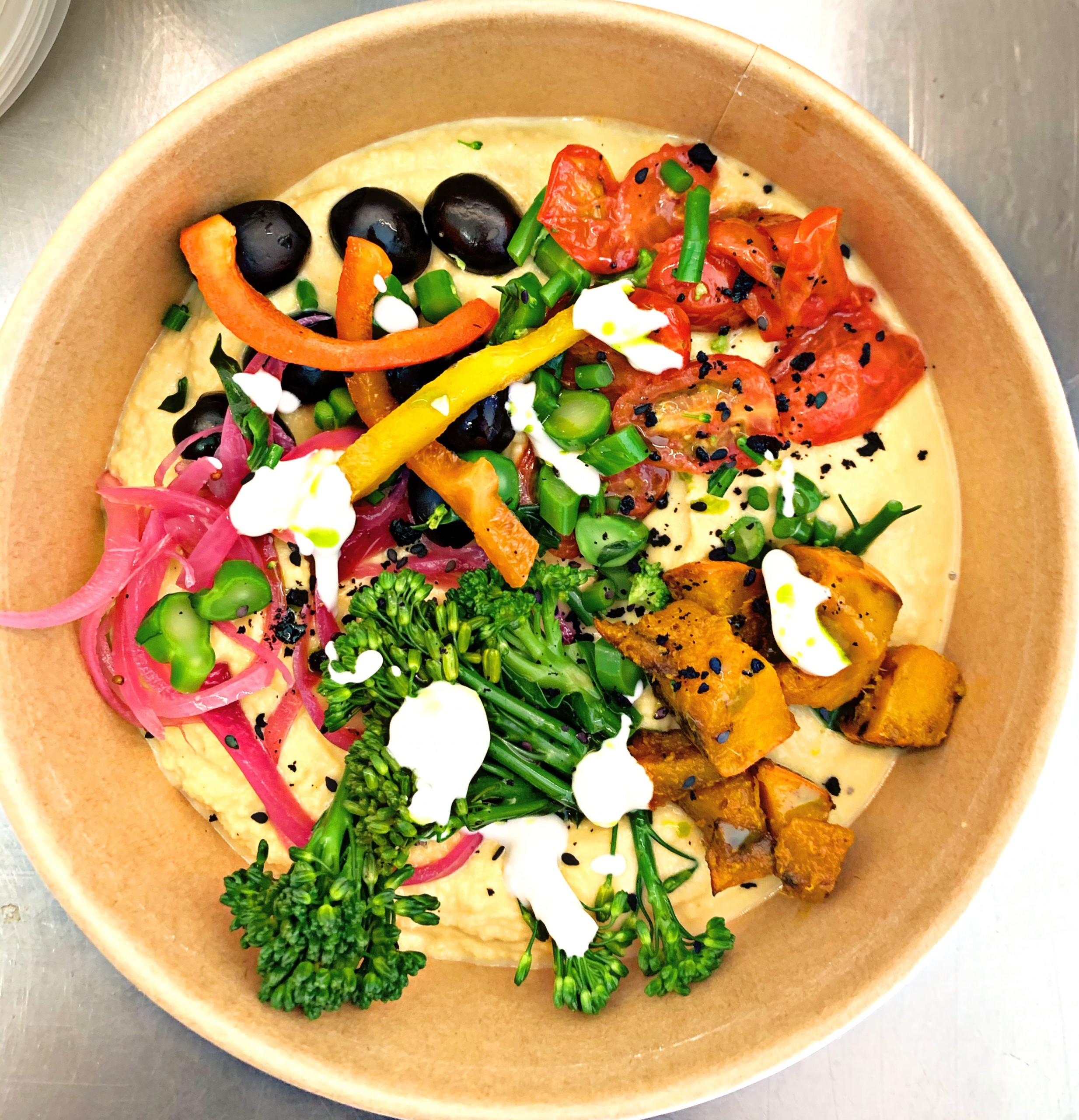 Veggie Hummus Bowl 400g