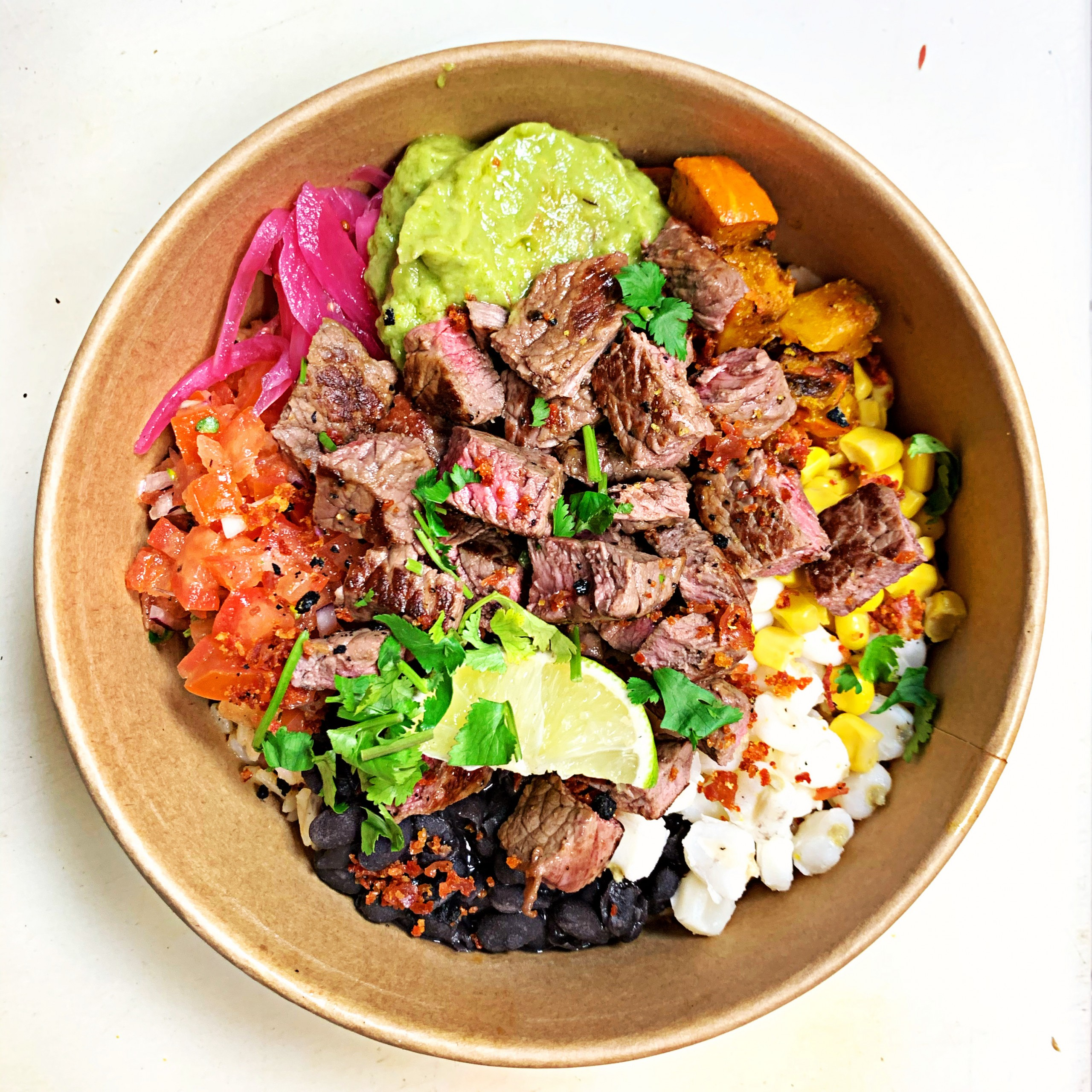 Burrito Bowl Steak 400g